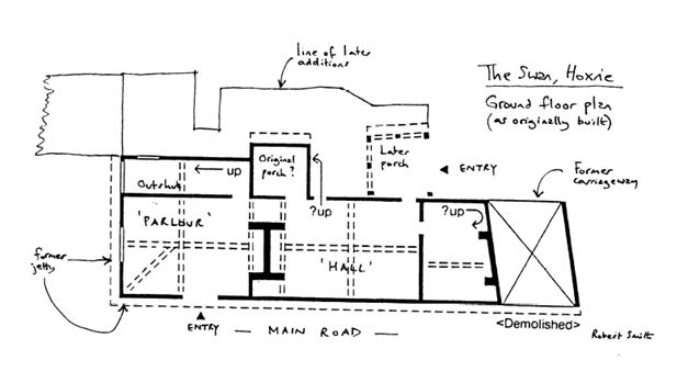 Plan of The Swan