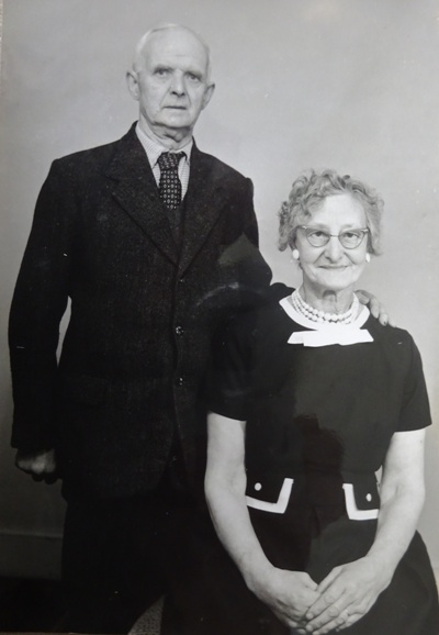 William Mills and his sister Lily
